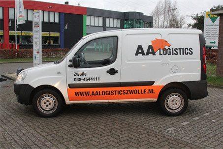 AA Koeriersbedrijf Zwolle wagenpark