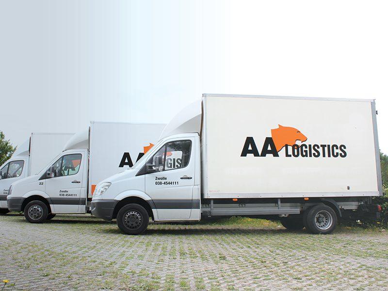 Vrachtwagen koerier zwolle